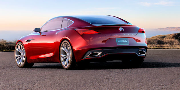 Buick Avista - 2016 North American Concept  of the Year