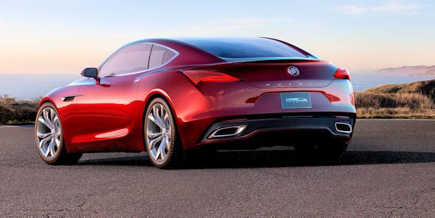 Buick Avista 2016 North American Concept Of The Year