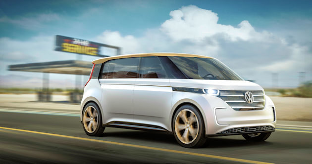 2016 North American Concept Vehicle Awards VW budd-e font