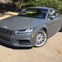 2016 Audi TTS Coupe Test Drive