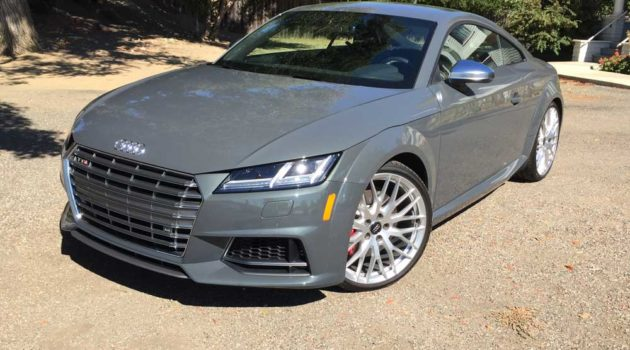 2016 Audi TTS Coupe Test Drive