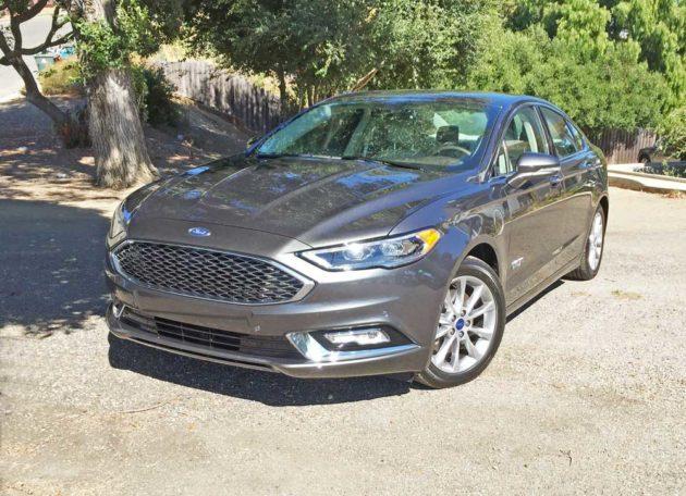 2017 Ford Fusion Energi Platinum Test Drive