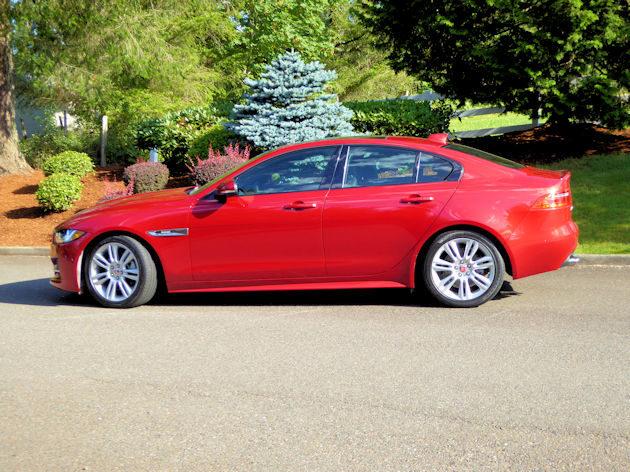 2017 Jaguar XE side