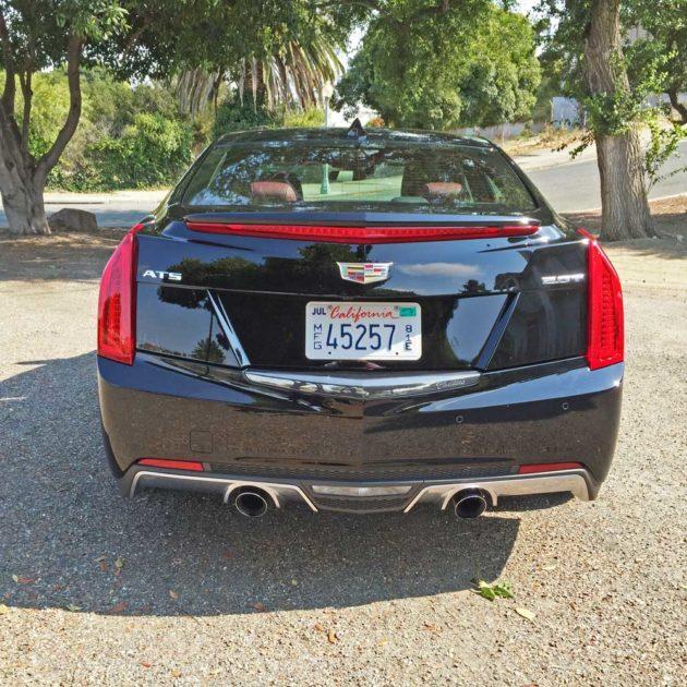 Cadillac-ATS-2.0T-Tail