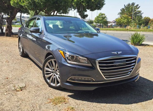 2017 Genesis G80 5.0 V8 RWD Ultimate Sedan Test Drive