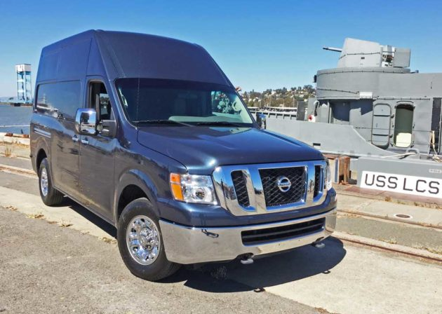 2016, Nissan NV 3500 SL V8 High Roof Van Test Drive