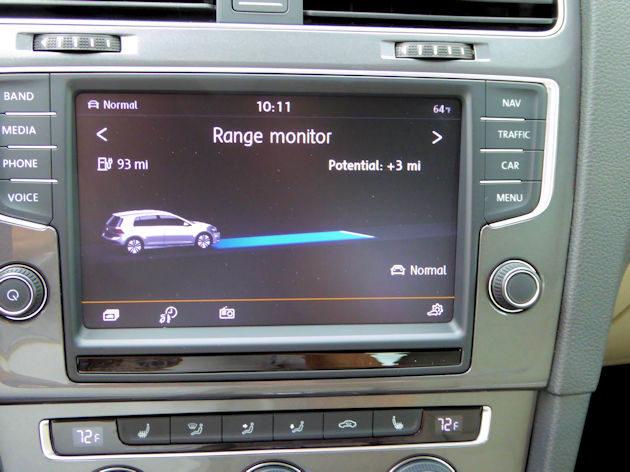 2016 Volkswagen Egolf Touchscreen