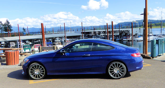 2017 Mercedes-Benz C300 Coupe Test Drive