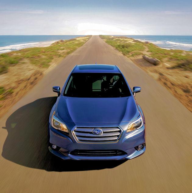2017 Subaru Legacy Test Drivenbsp