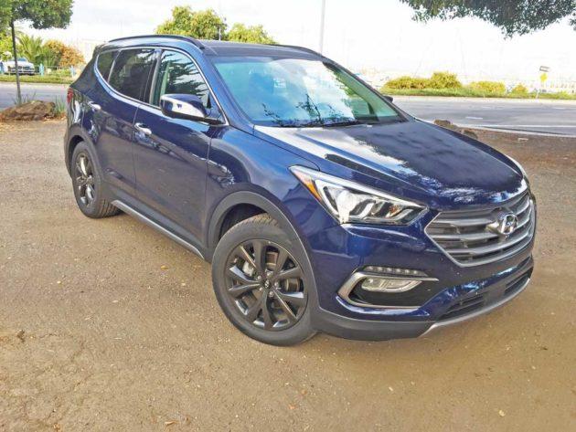 2017 Hyundai Santa Fe Sport 2.0T Test Drive
