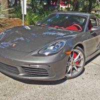 2017 Porsche 718 Cayman S Test Drive