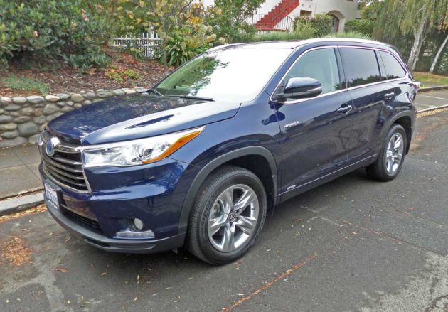 2016 Toyota Highlander Hybrid Limited Test Drive