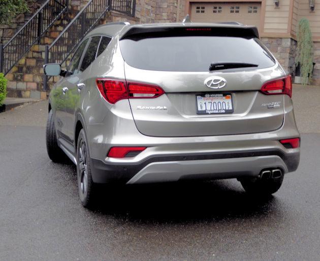 Hyundai Santa Fe Sport Rear X