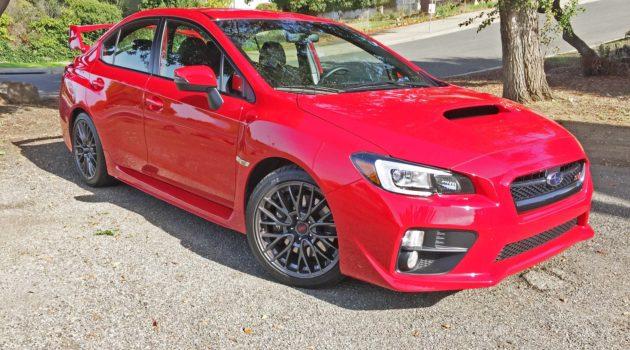 2016 Subaru WRX STi Test Drive