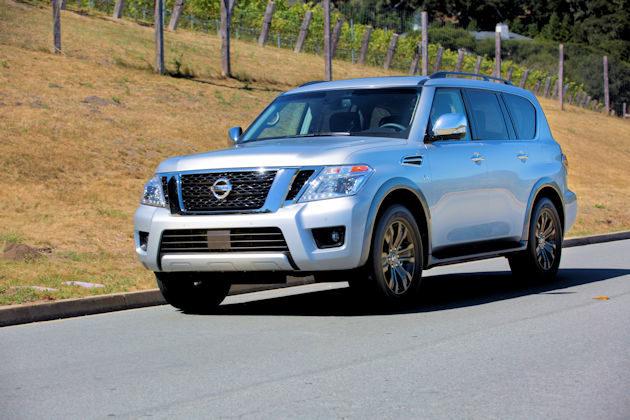 2017 Nissan Armada Test Drive