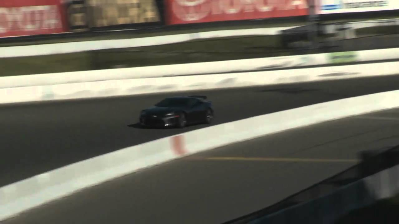 Preview Of The All New Lexus LFA Super Car At Infineon Racewaynbsp