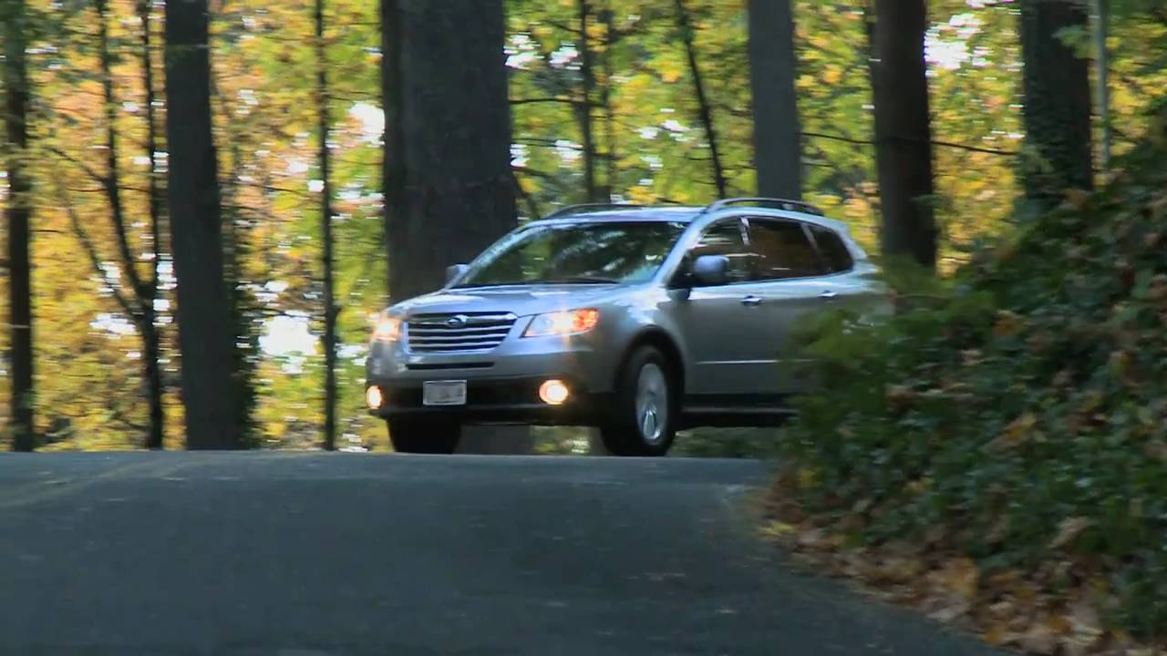 First Test drive Of The Subaru Tribeca With Nik J Milesnbsp