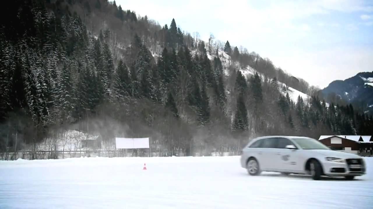 Audi Ice Drivingnbsp