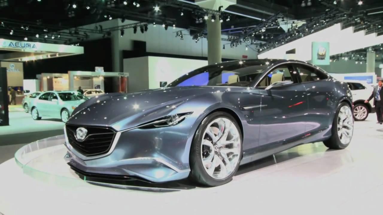 First Look At The Mazda Shinari Concept With Nik J Miles At The LA Auto Shownbsp