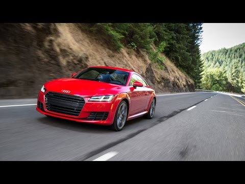 First Test Dive Of The All New 2016 Audi TTnbsp
