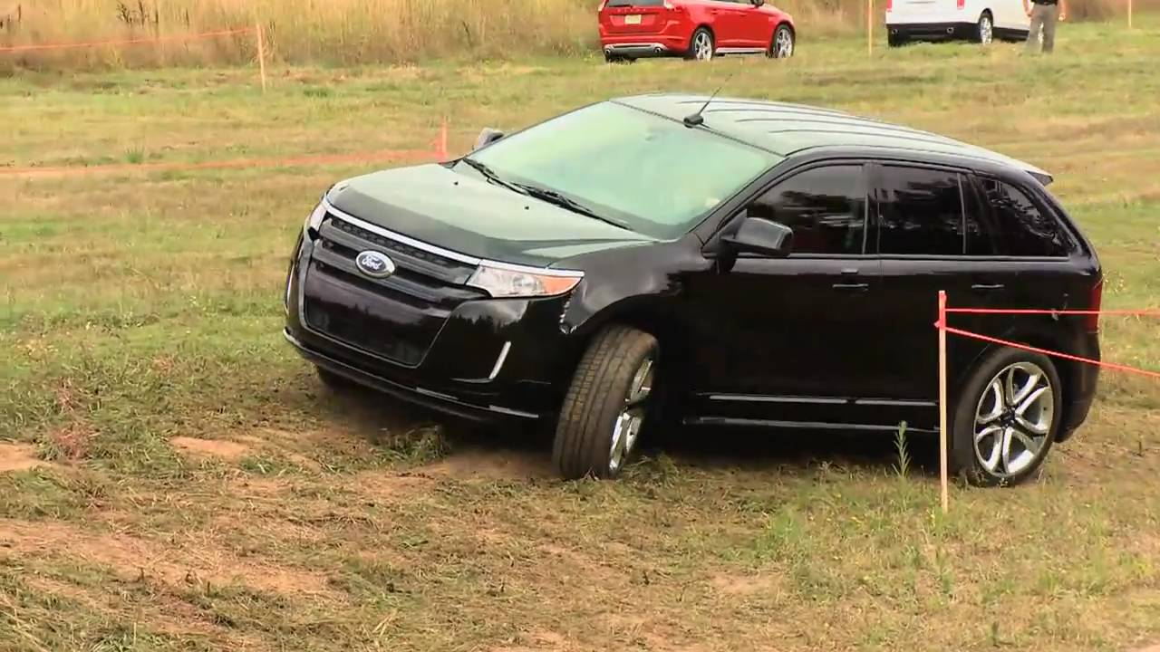 First Test Drive Of The All New Ford Edge Sport With Nik J Miles At Mud Festnbsp