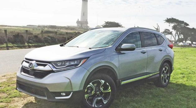 2017 Honda CR-V Touring Test Drive