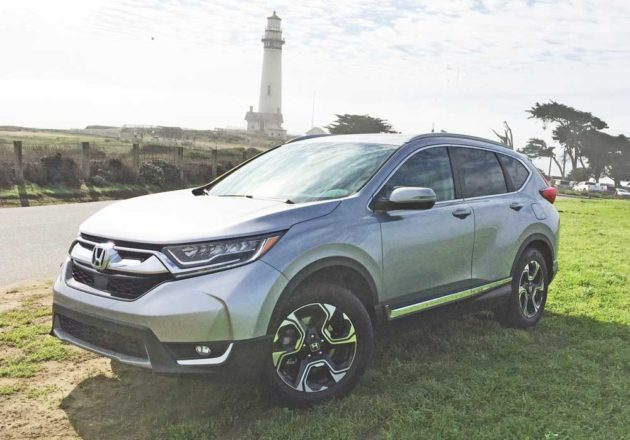 2017 Honda Cr V Touring Test Drive