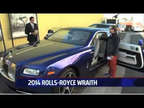 Nik Miles give Raoul from Fox 5 a Rolls Royce Wraithnbsp