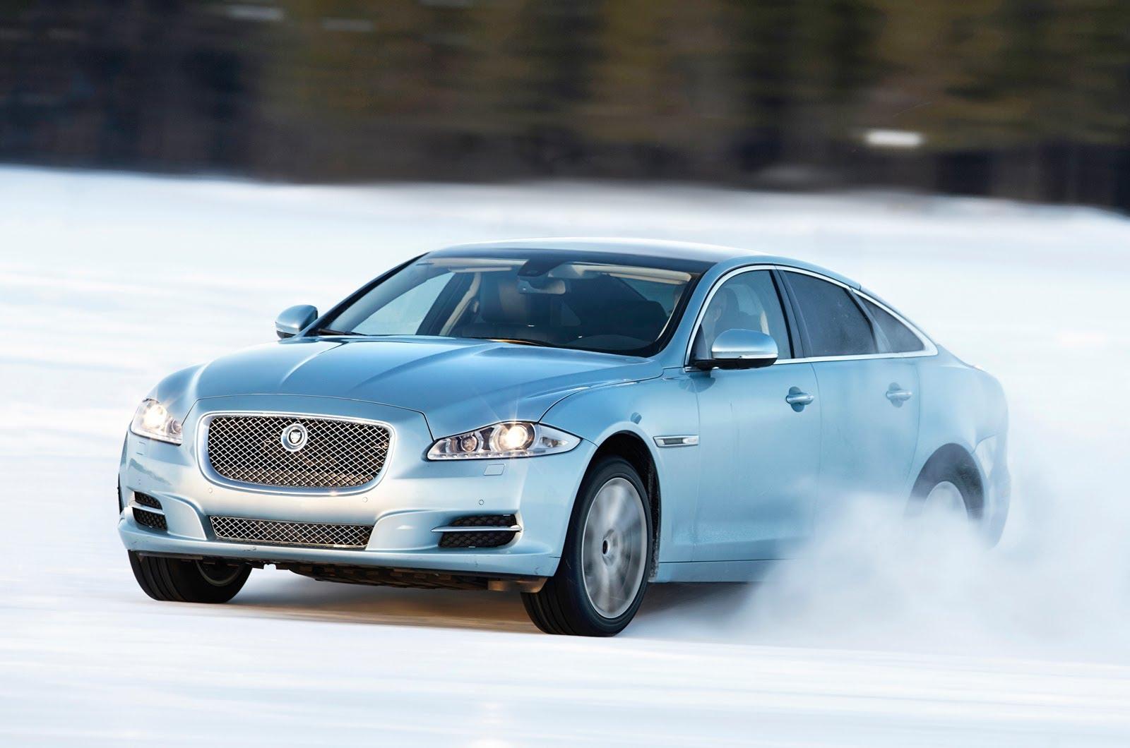 2013 Jaguar XJ AWD Ice Drivingnbsp