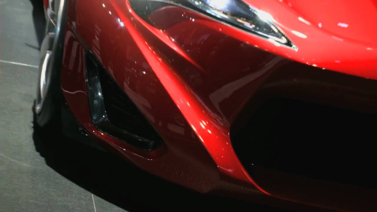 First Look At The Scion FR S Concept Car From The New York Auto Shownbsp