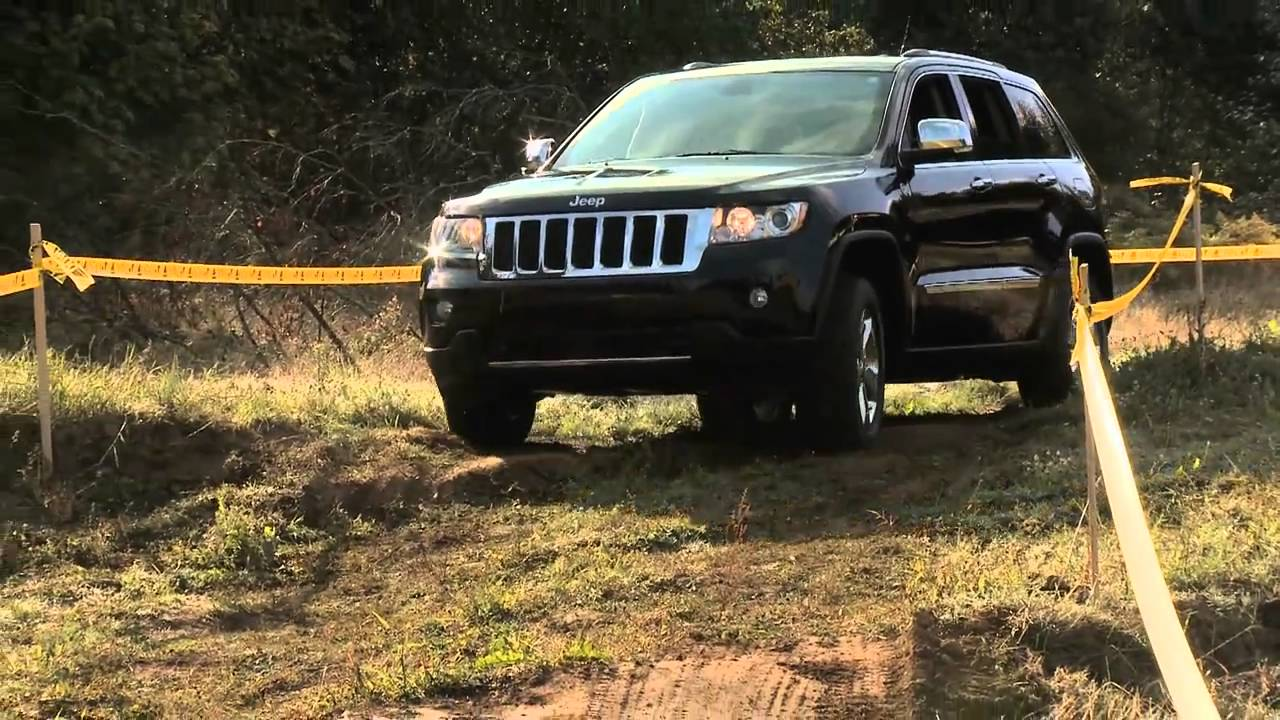 First Look At The Jeep Grand Cherokee With Nik J Miles At Mud Festnbsp