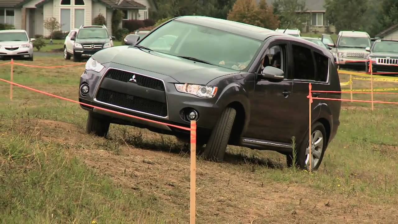First Look At The Mitsubishi Outlander GT With Nik J Miles At Mud Festnbsp