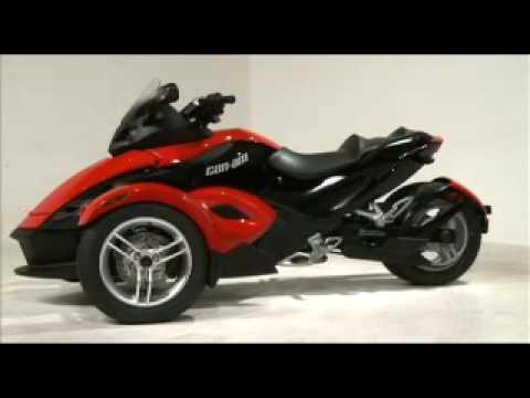 CanAm Spyder 3 wheeled Bikenbsp