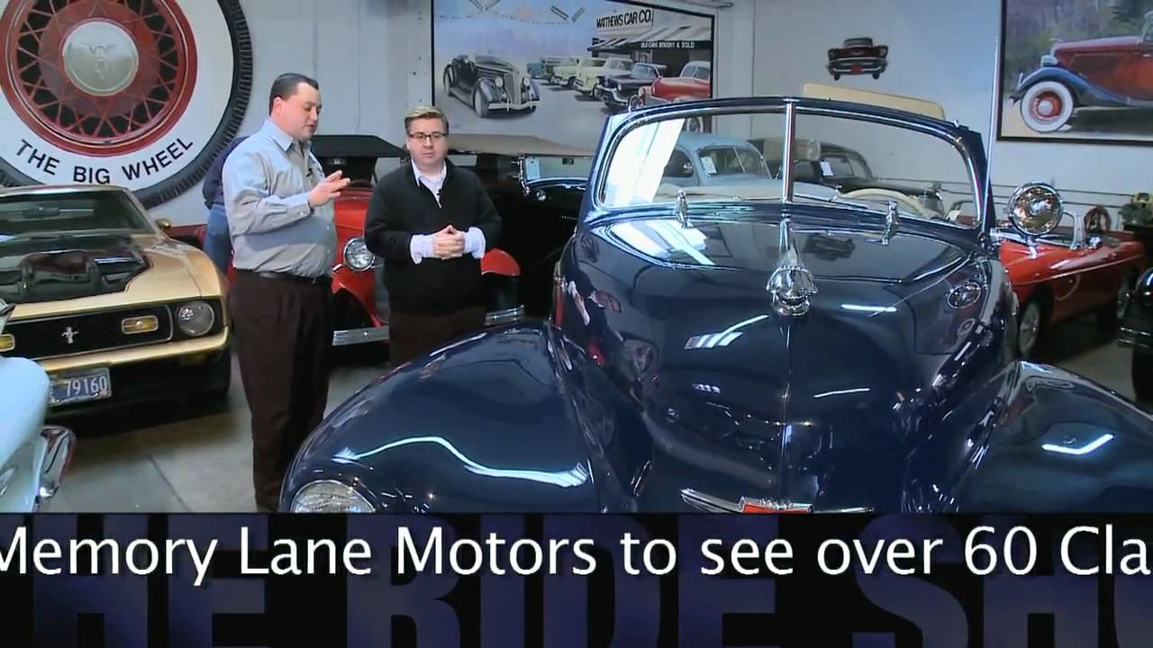 Cars of the 40s With Memory Lane Motorsnbsp