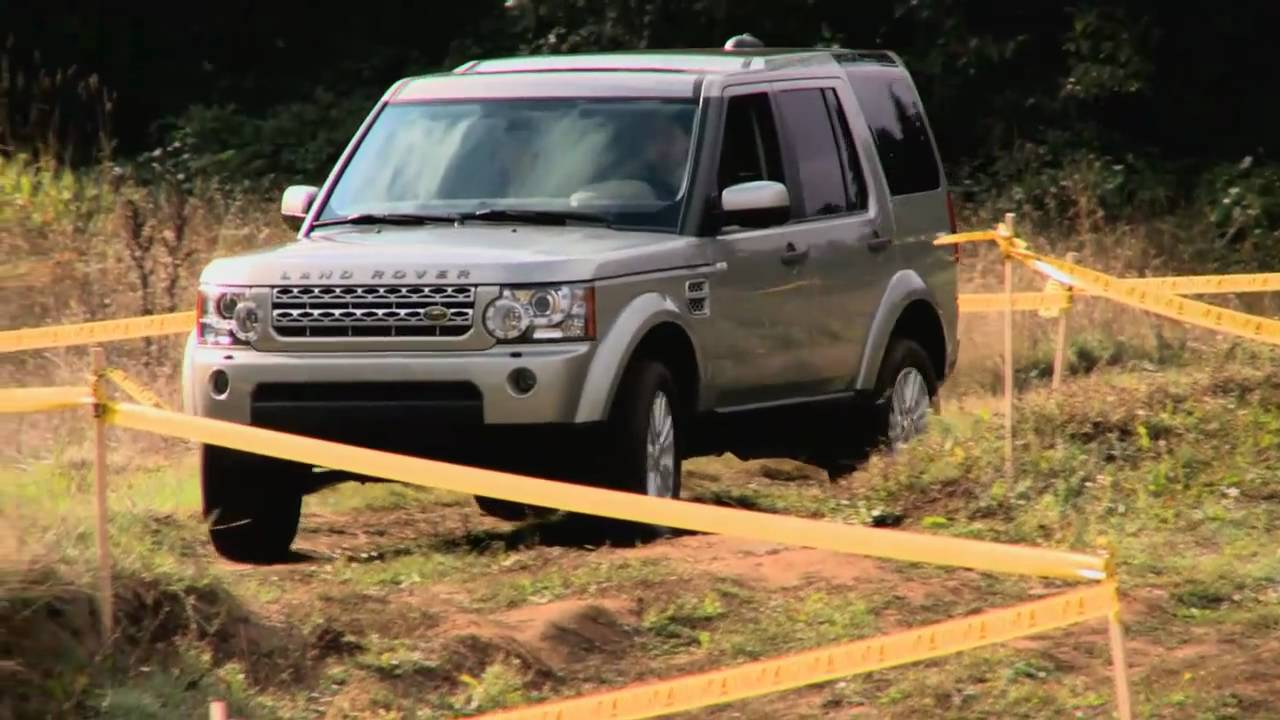 First Test Drive Of The Land Rover LR4 With Nik J Miles At Mud Festnbsp