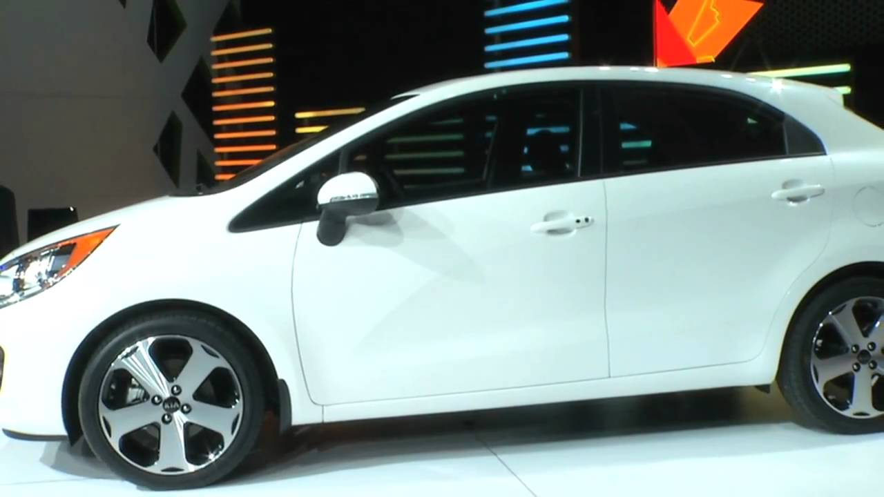 First Look At The All New Kia Rio From The New York Auto Shownbsp