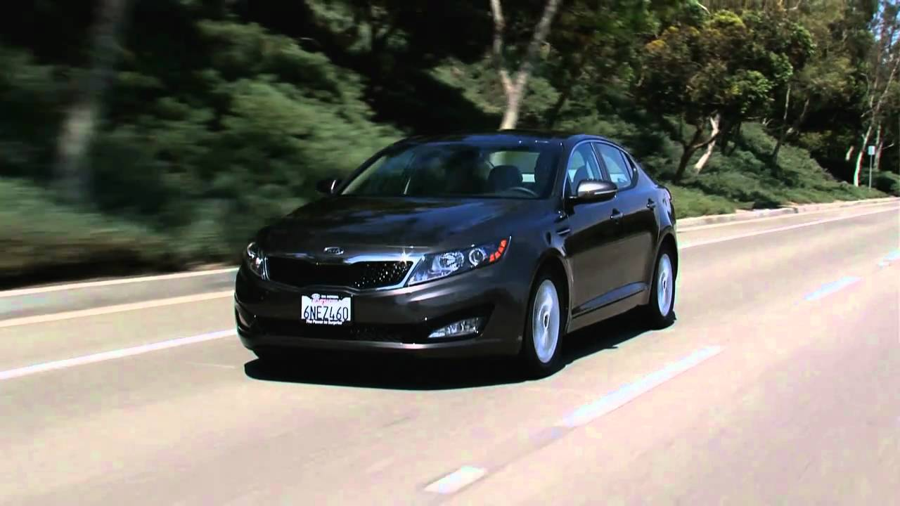 First Look At The Kia Optima Hybrid With Nik J Miles At The LA Auto Shownbsp