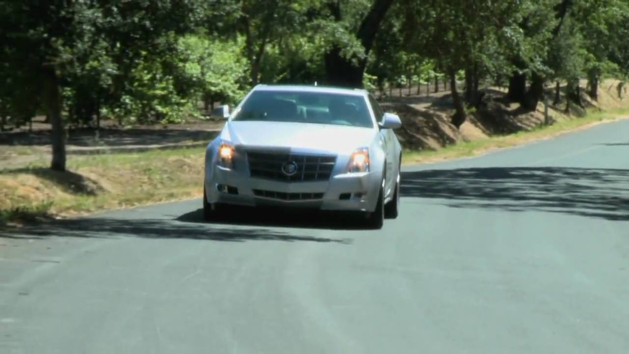 First Look At The All New Cadillac CTS Coupe With Nik J Milesnbsp