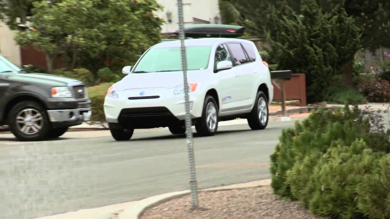 First Test Drive Of The Toyota Rav4 EVnbsp