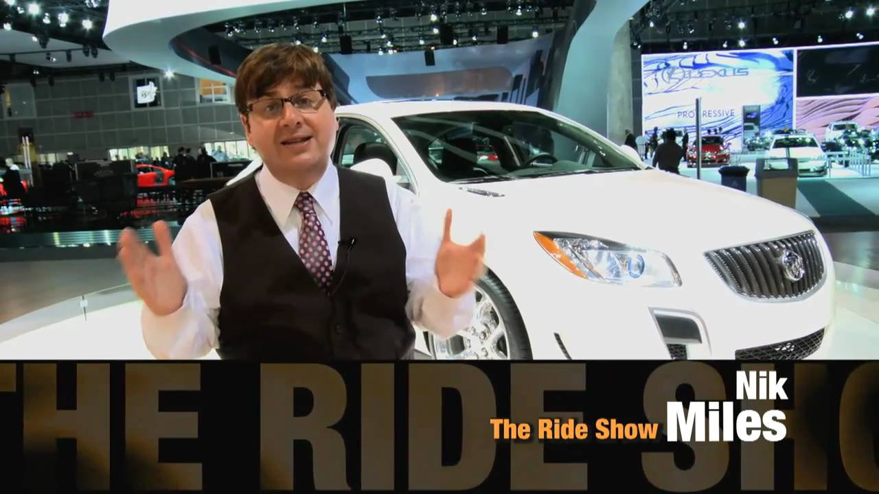 First Look At The Sexy Buick Regal GS With Nik J Miles At The LA Auto Shownbsp