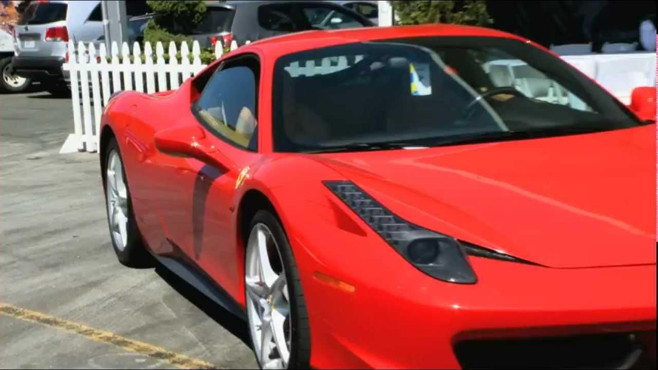 Preview Of The Ferrari 458 Italianbsp