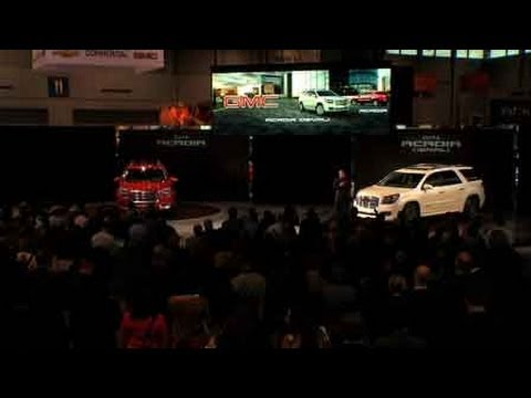 Preview Of The All New GMC Acadia From The Chicago Auto Shownbsp
