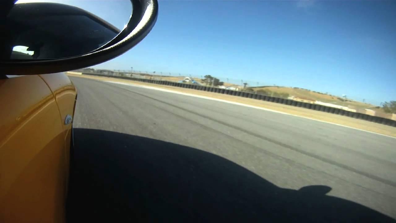 Lotus Evora S Racing At Laguna Seca Raceway