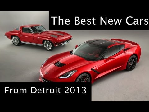 Chevy Corvette Stingray and other cars from Detroitnbsp