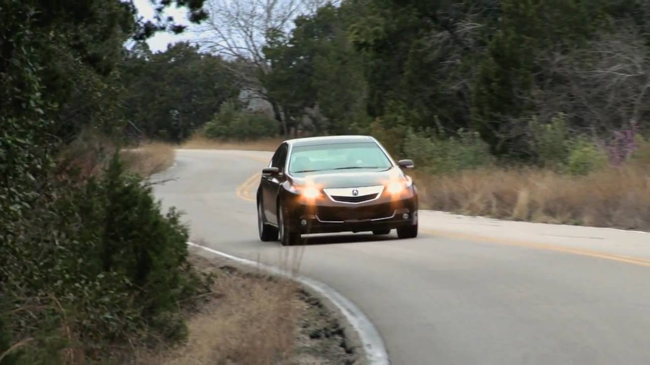 Test Drive Of The Acura TLnbsp