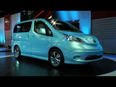 First Look At The All New Nissan NV Electric From The Detroit Auto Shownbsp