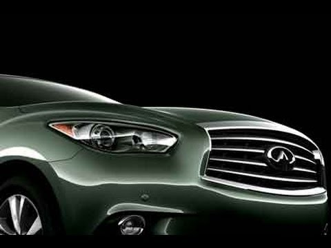 First Look At The All New Infiniti JX35 From The Detroit Auto Shownbsp