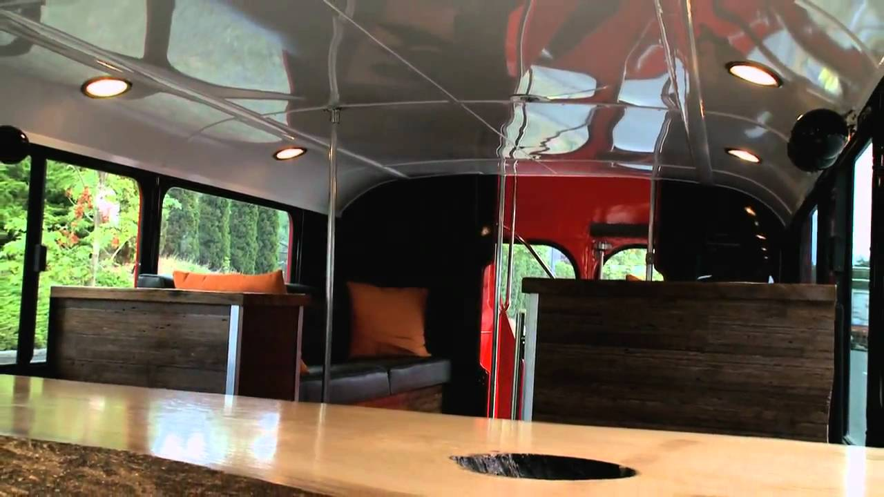 First Look At A Double Decker Bus Limousine With Nik J Milesnbsp