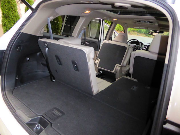 2017 Honda Pilot Cargo Area Best New Cars For 2018