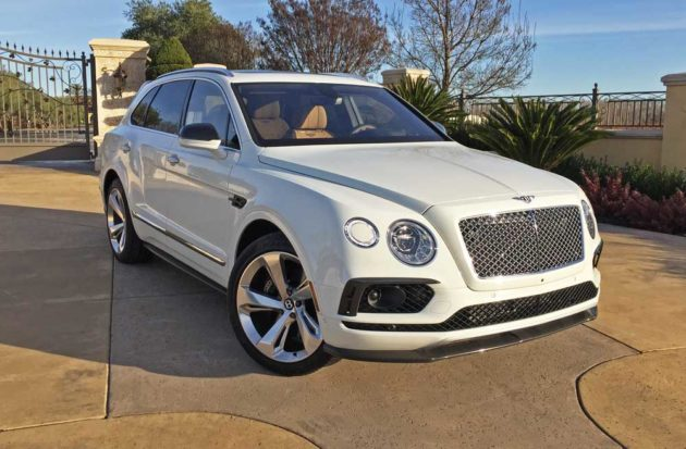 2017 Bentley Bentayga Test Drive
